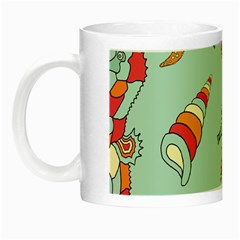 Seahorse Seashell Starfish Shell Night Luminous Mugs