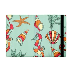 Seahorse Seashell Starfish Shell Apple Ipad Mini Flip Case