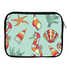 Seahorse Seashell Starfish Shell Apple Ipad 2/3/4 Zipper Cases