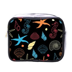 Seahorse Starfish Seashell Shell Mini Toiletries Bags