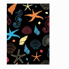 Seahorse Starfish Seashell Shell Large Garden Flag (two Sides)