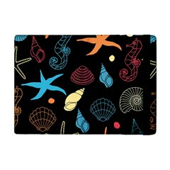 Seahorse Starfish Seashell Shell Apple Ipad Mini Flip Case