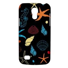 Seahorse Starfish Seashell Shell Galaxy S4 Mini