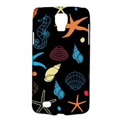 Seahorse Starfish Seashell Shell Galaxy S4 Active