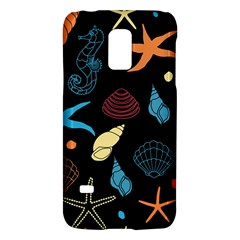 Seahorse Starfish Seashell Shell Galaxy S5 Mini