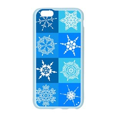 Seamless Blue Snowflake Pattern Apple Seamless iPhone 6/6S Case (Color)