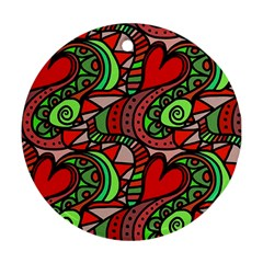 Seamless Tile Background Abstract Ornament (Round)