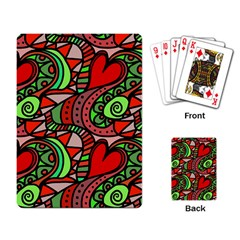Seamless Tile Background Abstract Playing Card