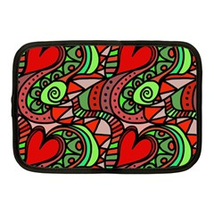 Seamless Tile Background Abstract Netbook Case (medium)