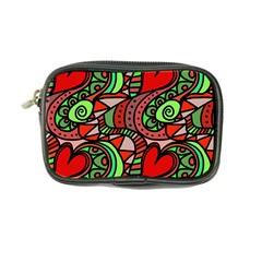 Seamless Tile Background Abstract Coin Purse