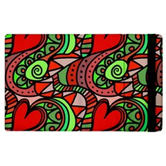 Seamless Tile Background Abstract Apple Ipad 2 Flip Case