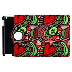 Seamless Tile Background Abstract Apple Ipad 2 Flip 360 Case