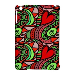 Seamless Tile Background Abstract Apple iPad Mini Hardshell Case (Compatible with Smart Cover)