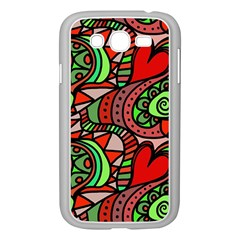 Seamless Tile Background Abstract Samsung Galaxy Grand Duos I9082 Case (white)