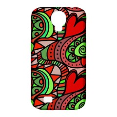 Seamless Tile Background Abstract Samsung Galaxy S4 Classic Hardshell Case (pc+silicone)