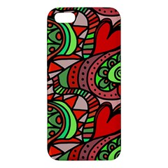 Seamless Tile Background Abstract Iphone 5s/ Se Premium Hardshell Case