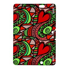 Seamless Tile Background Abstract Kindle Fire HDX 8.9  Hardshell Case