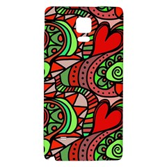 Seamless Tile Background Abstract Galaxy Note 4 Back Case