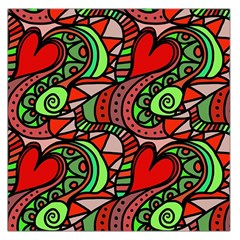 Seamless Tile Background Abstract Large Satin Scarf (square)