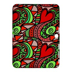 Seamless Tile Background Abstract Samsung Galaxy Tab 4 (10 1 ) Hardshell Case