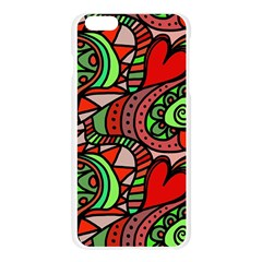 Seamless Tile Background Abstract Apple Seamless iPhone 6 Plus/6S Plus Case (Transparent)
