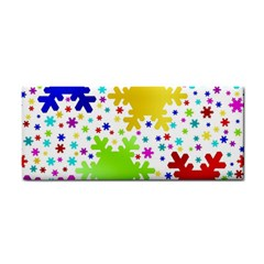 Seamless Snowflake Pattern Cosmetic Storage Cases
