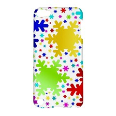 Seamless Snowflake Pattern Apple Ipod Touch 5 Hardshell Case