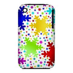 Seamless Snowflake Pattern Iphone 3s/3gs