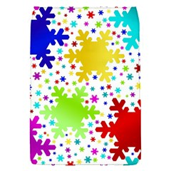 Seamless Snowflake Pattern Flap Covers (s)