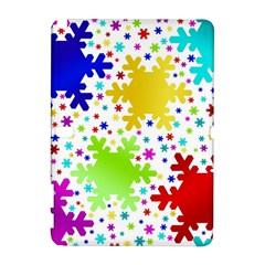Seamless Snowflake Pattern Galaxy Note 1