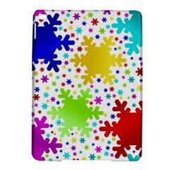 Seamless Snowflake Pattern Ipad Air 2 Hardshell Cases