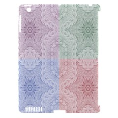 Seamless Kaleidoscope Patterns In Different Colors Based On Real Knitting Pattern Apple iPad 3/4 Hardshell Case (Compatible with Smart Cover)
