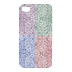 Seamless Kaleidoscope Patterns In Different Colors Based On Real Knitting Pattern Apple Iphone 4/4s Premium Hardshell Case
