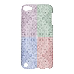 Seamless Kaleidoscope Patterns In Different Colors Based On Real Knitting Pattern Apple iPod Touch 5 Hardshell Case