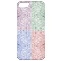 Seamless Kaleidoscope Patterns In Different Colors Based On Real Knitting Pattern Apple iPhone 5 Classic Hardshell Case