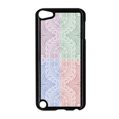 Seamless Kaleidoscope Patterns In Different Colors Based On Real Knitting Pattern Apple iPod Touch 5 Case (Black)