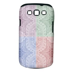 Seamless Kaleidoscope Patterns In Different Colors Based On Real Knitting Pattern Samsung Galaxy S Iii Classic Hardshell Case (pc+silicone)