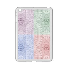 Seamless Kaleidoscope Patterns In Different Colors Based On Real Knitting Pattern Ipad Mini 2 Enamel Coated Cases