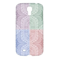 Seamless Kaleidoscope Patterns In Different Colors Based On Real Knitting Pattern Samsung Galaxy S4 I9500/I9505 Hardshell Case
