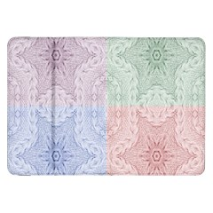 Seamless Kaleidoscope Patterns In Different Colors Based On Real Knitting Pattern Samsung Galaxy Tab 8.9  P7300 Flip Case
