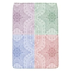 Seamless Kaleidoscope Patterns In Different Colors Based On Real Knitting Pattern Flap Covers (s)