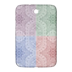Seamless Kaleidoscope Patterns In Different Colors Based On Real Knitting Pattern Samsung Galaxy Note 8 0 N5100 Hardshell Case