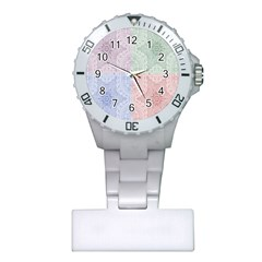 Seamless Kaleidoscope Patterns In Different Colors Based On Real Knitting Pattern Plastic Nurses Watch
