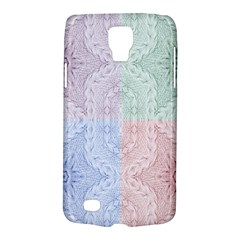 Seamless Kaleidoscope Patterns In Different Colors Based On Real Knitting Pattern Galaxy S4 Active