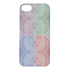 Seamless Kaleidoscope Patterns In Different Colors Based On Real Knitting Pattern Apple Iphone 5s/ Se Hardshell Case