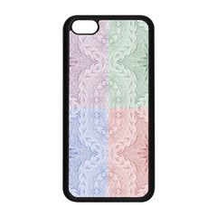 Seamless Kaleidoscope Patterns In Different Colors Based On Real Knitting Pattern Apple Iphone 5c Seamless Case (black)