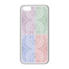 Seamless Kaleidoscope Patterns In Different Colors Based On Real Knitting Pattern Apple Iphone 5c Seamless Case (white)