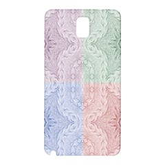 Seamless Kaleidoscope Patterns In Different Colors Based On Real Knitting Pattern Samsung Galaxy Note 3 N9005 Hardshell Back Case