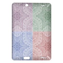Seamless Kaleidoscope Patterns In Different Colors Based On Real Knitting Pattern Amazon Kindle Fire Hd (2013) Hardshell Case
