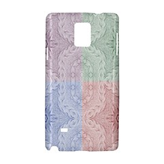 Seamless Kaleidoscope Patterns In Different Colors Based On Real Knitting Pattern Samsung Galaxy Note 4 Hardshell Case